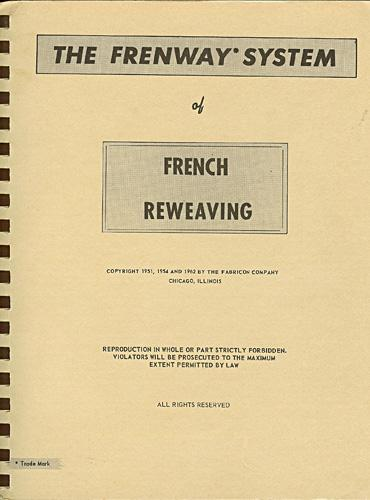 French Invisible Reweaving Book Cover