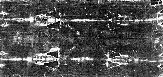 Shroud of Turin Ventral Image